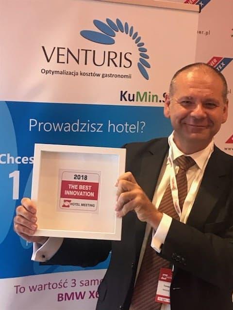Fotorelacja z wczorajszej konferencji i wręczenia nam nagrody: 2018 The Best Innovation. Hotel Meeting
