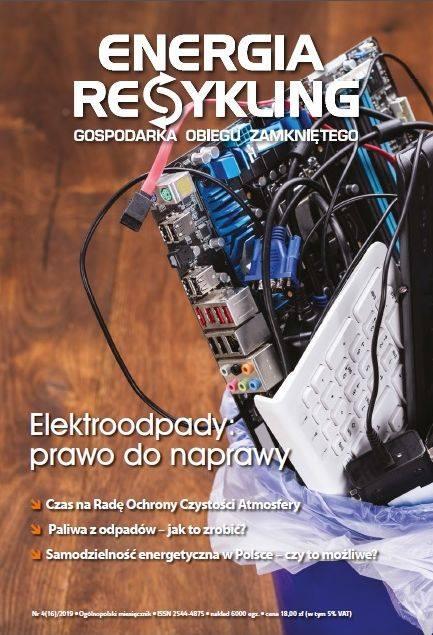 Jesteśmy w najnowszym kwietniowym numerze: 'Energia i Recykling'!