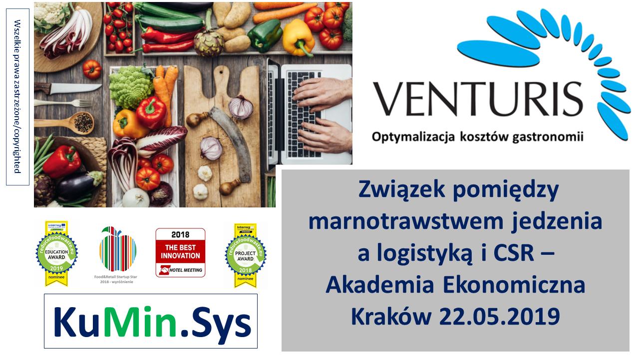 Logistyka i CSR a 'food waste' i marnowanie jedzenia: UEkonomiczny Kraków