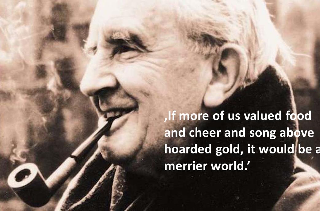 Z cyklu cytat istotny dla 'food waste' – JRR Tolkien 1892-1973: pisarz
