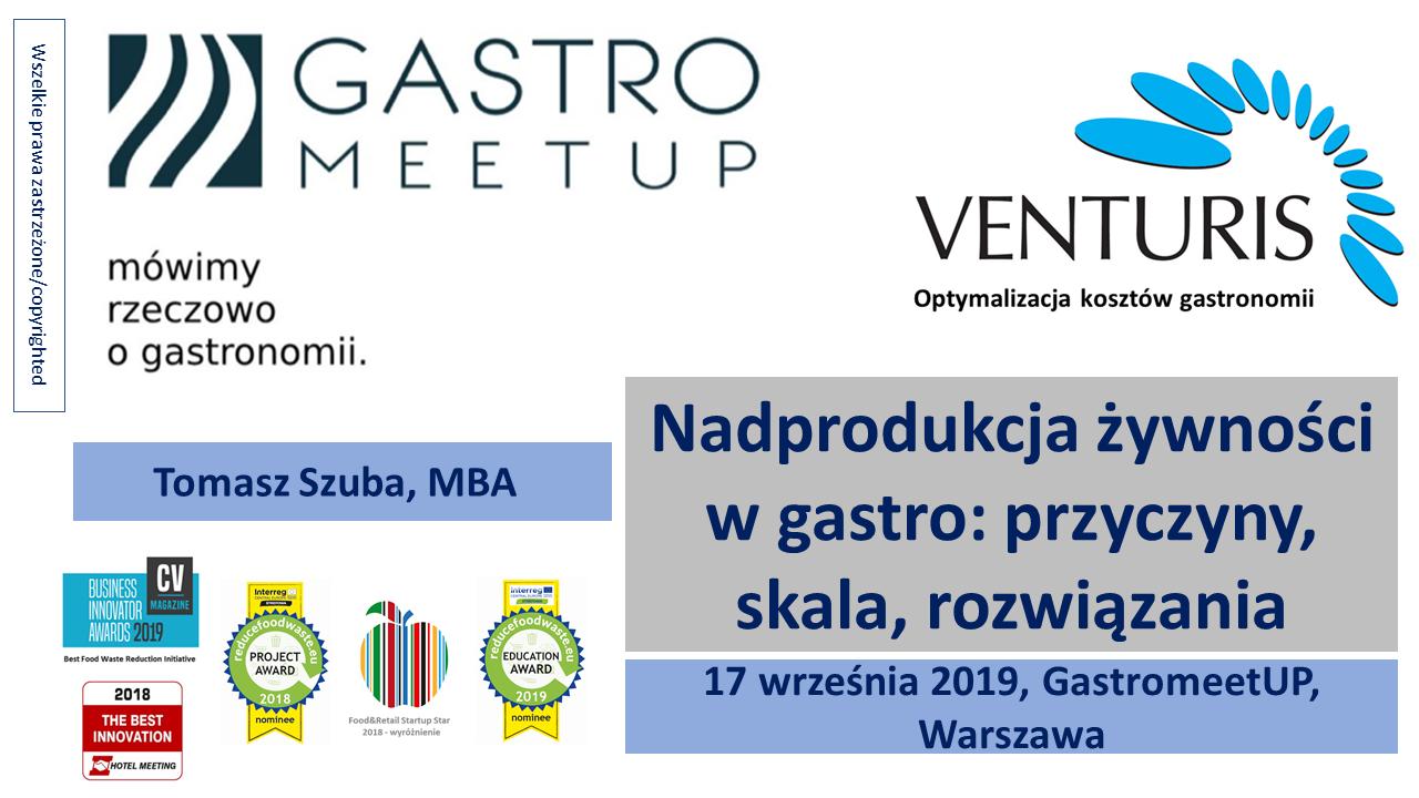 GastroMeetUP w Warszawie