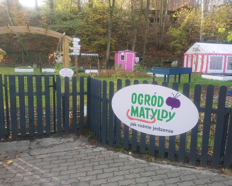 Odwiedziliśmy Ogród Matyldy w Gdańsku