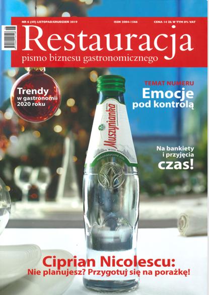 Nasz artykuł w magazynie Restauracja