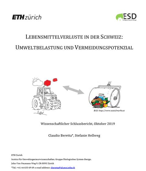 Food waste w Szwajcarii – nowy raport