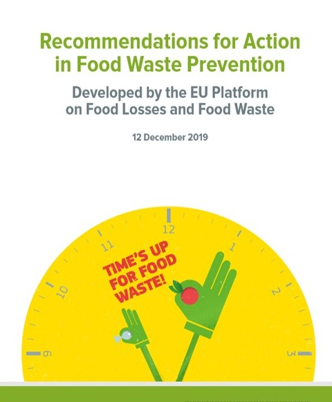 Now raport o prewencji 'food waste'