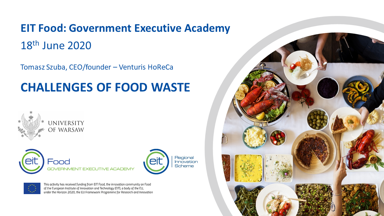 Nasz udział w Government Executive Academy (EIT Food)
