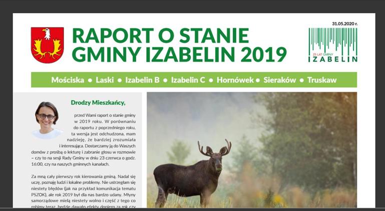 Raport o stanie gminy Izabelin 2019: o naszym audycie w placówkach edukacyjnych