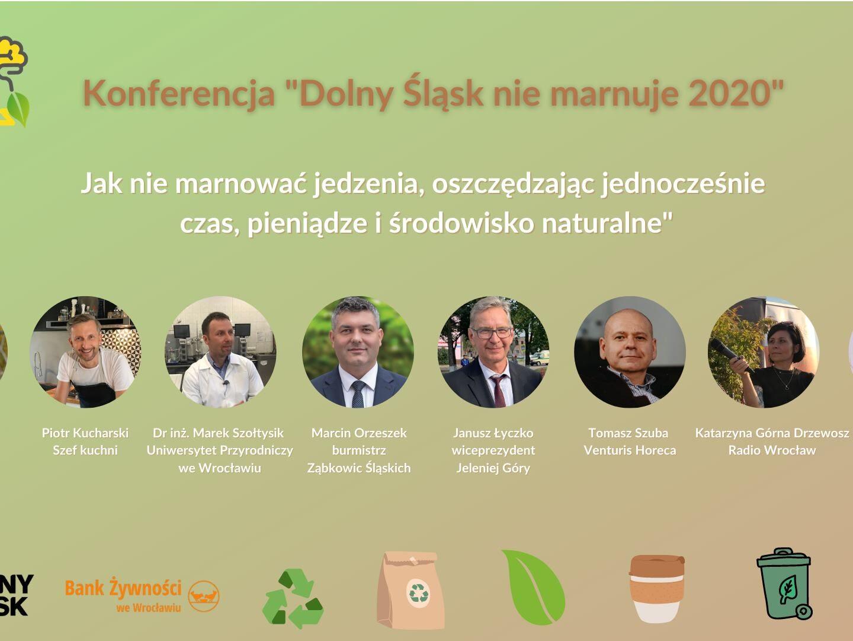Webinarium o niemarnowaniu jedzenia na Dolnym Śląsku